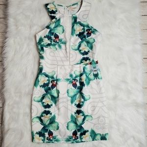 L'Atiste By Amy Floral Dress